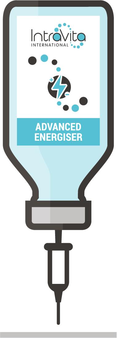 Advanced Energiser IV Nutrient Formula - Ready to administer 250ml bottle.