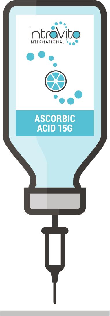 Ascorbic Acid 15g- IV Nutrient Formula - Ready to administer 250ml bottle.