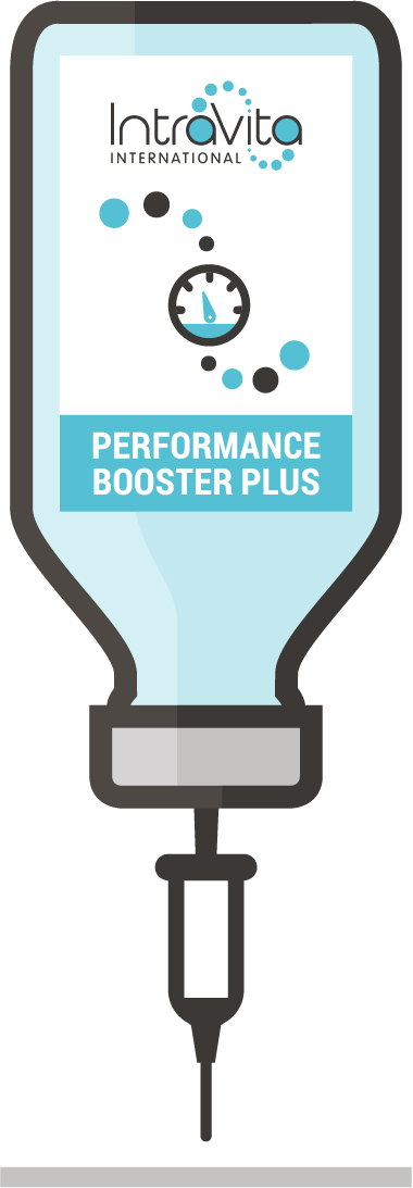 Performance Booster PLUS IV Nutrient Formula - Ready to administer 250ml bottle.