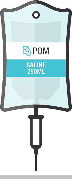 BAXTER 250ml Sodium Chloride 0.9% W/V Saline from IntraVita International