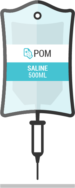 BAXTER 500ml Sodium Chloride 0.9% W/V Saline from IntraVita International